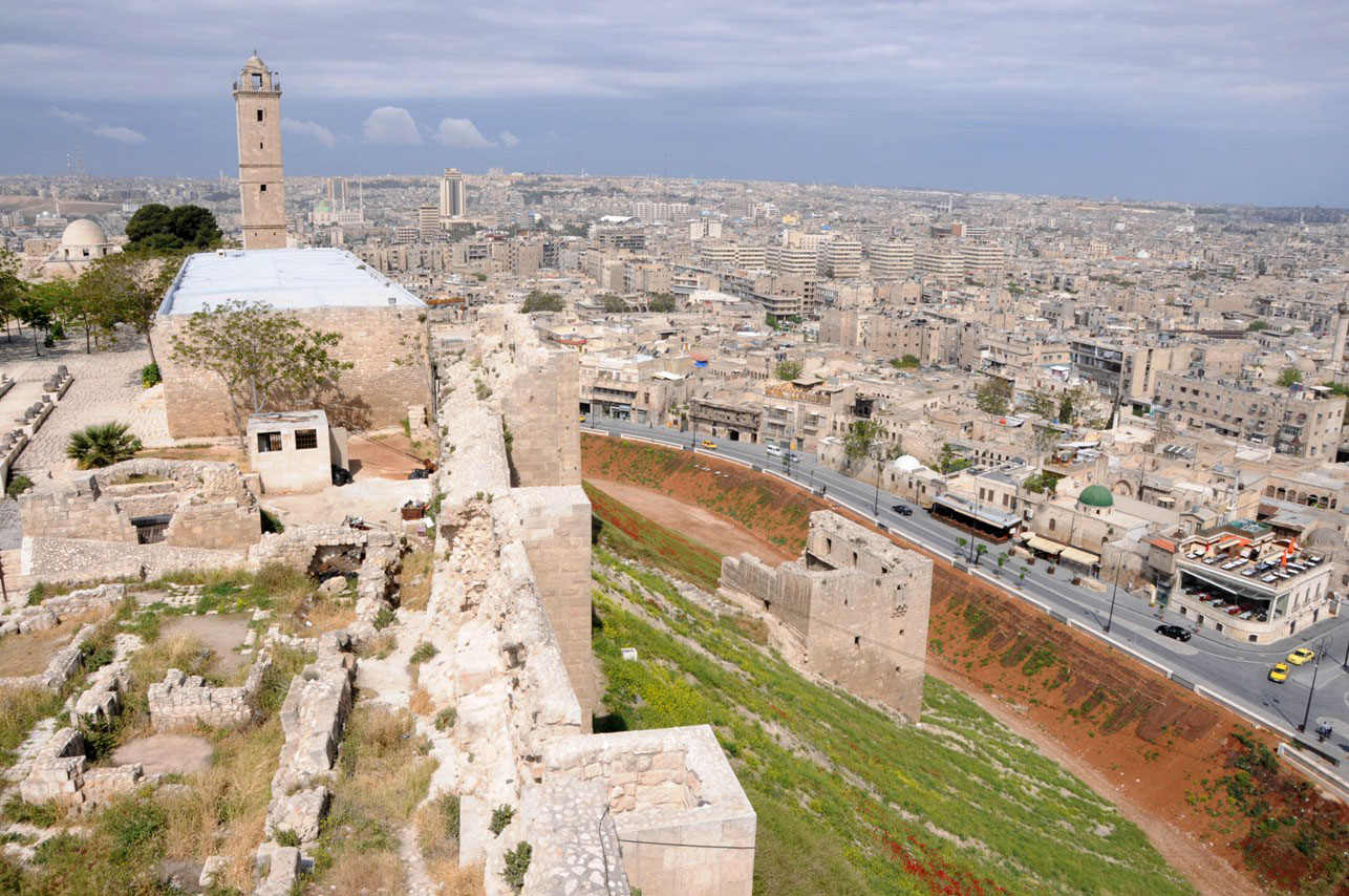 Ancinet Aleppo from the Citadel (2011)