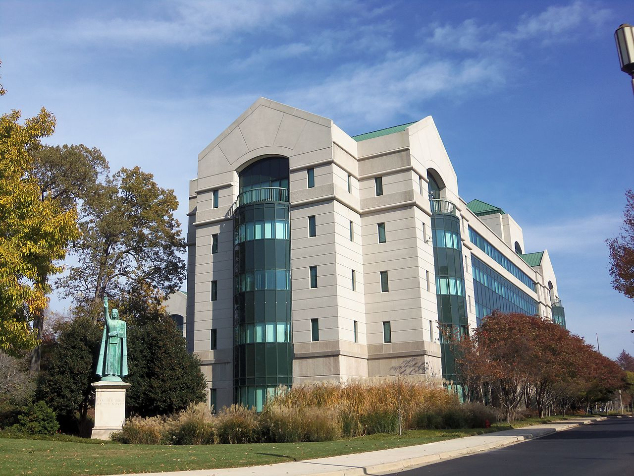 Offices of the United States Conference of Catholic Bishops on Fourth Street NE in Washington