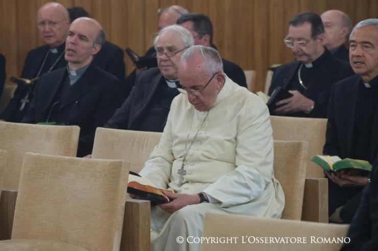Papa Esercizi Spirituali