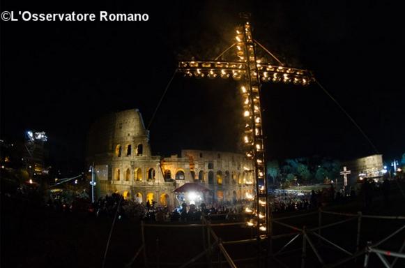 Via Crucis Colosseo