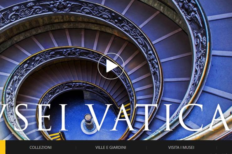 Musei Vaticani nuovo sito web