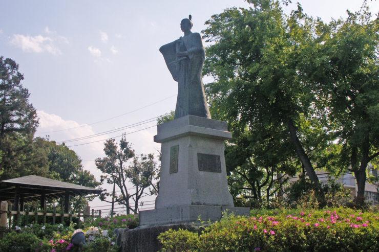 Justus takayama ukon, statua a Osaka