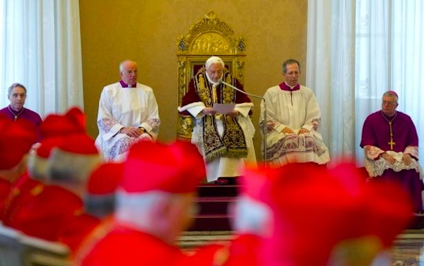 Declaratio Benedetto XVI