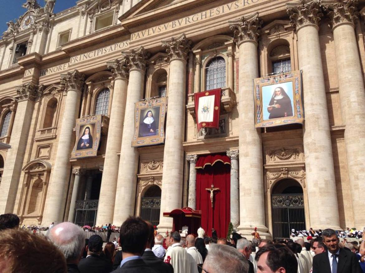 Canonization of four new saints on St. Peter's Square