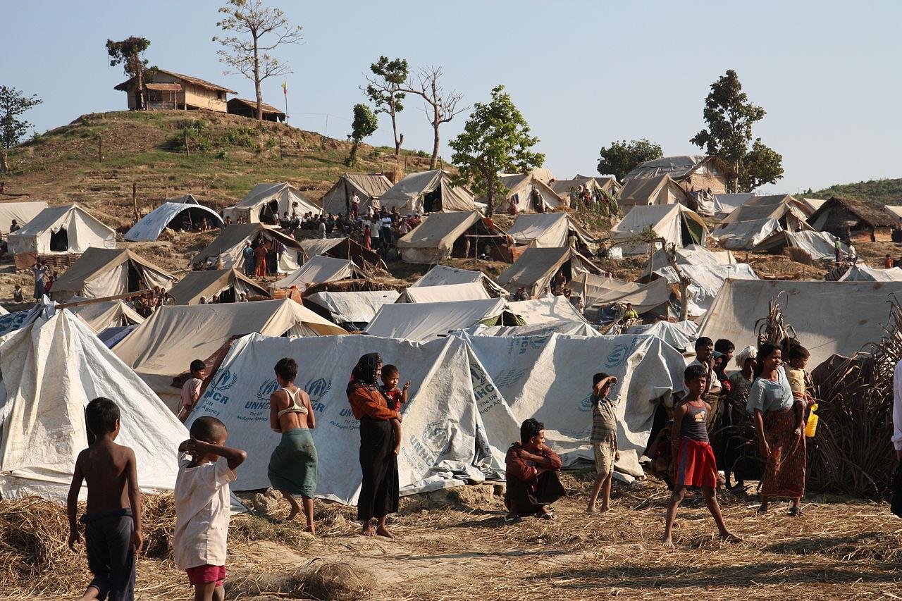 Rohingyan people displaced in 2012 Rakhine State Buddhist violence