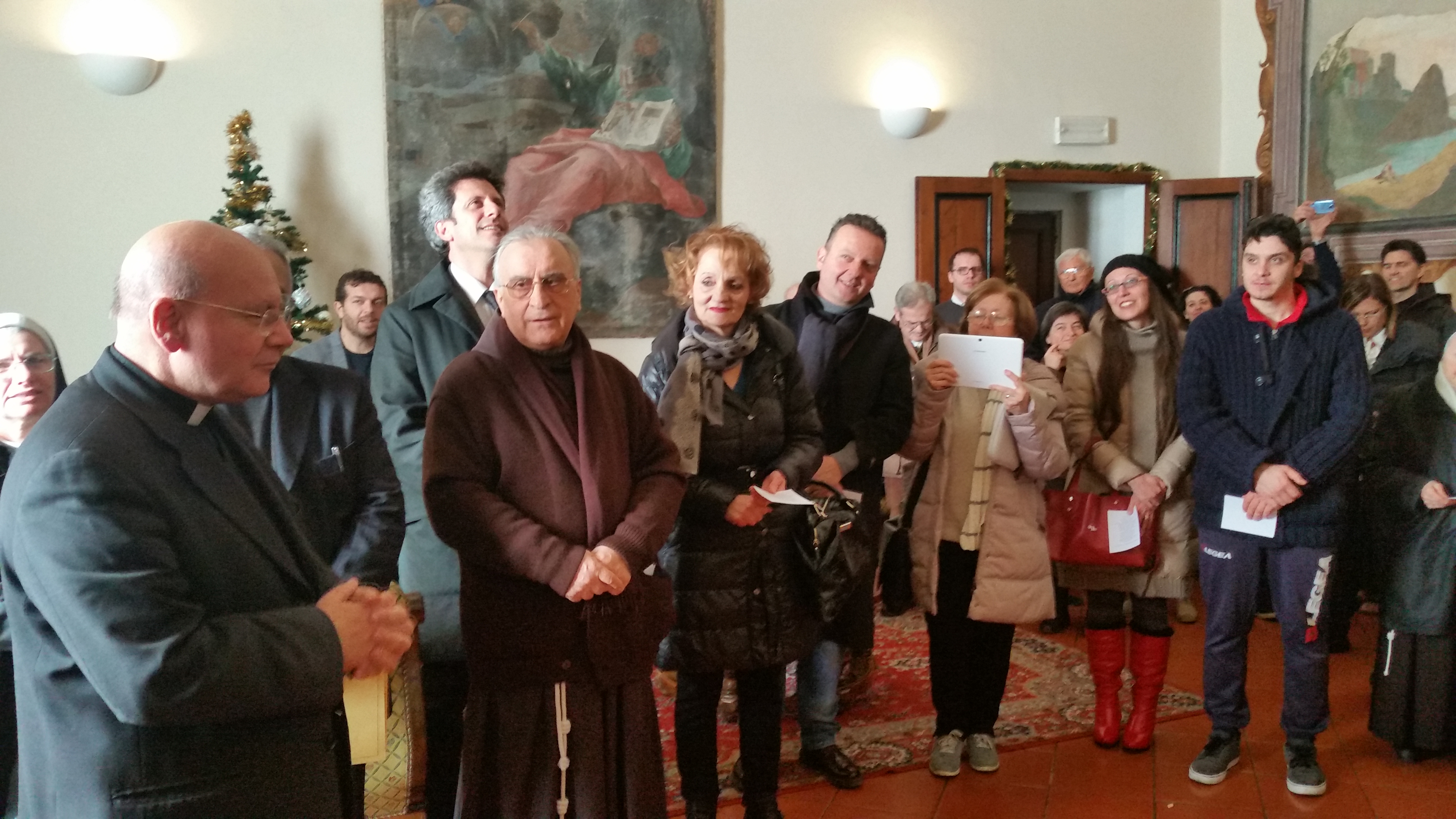 Christmas wishes by Mgr. Domenico Sorrentino