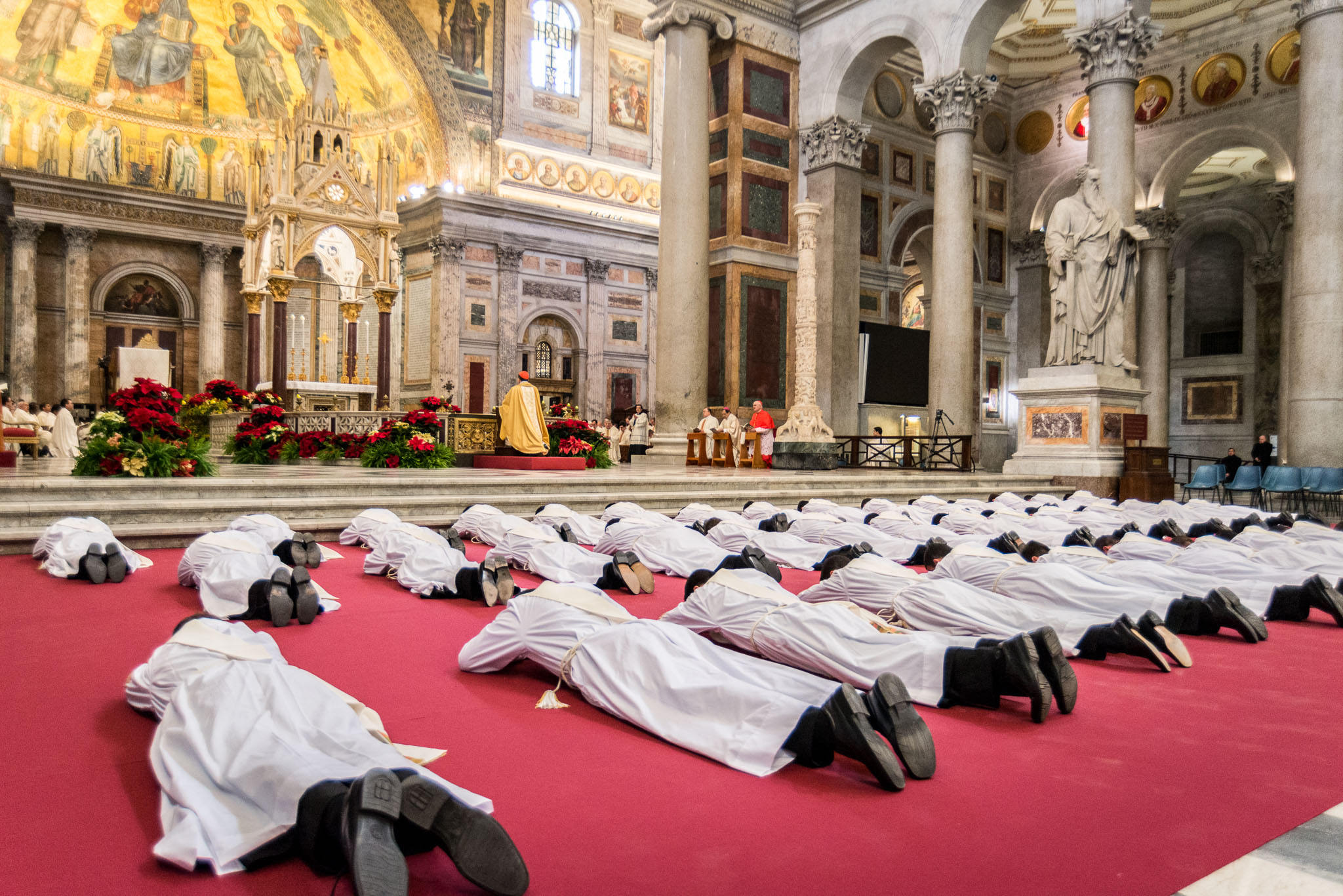 Ordination of 44 new priests of the Legionaries of Christ