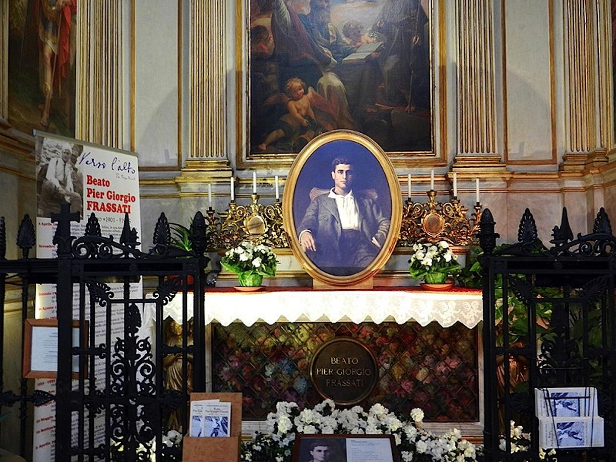 Tomb of Pier Giorgio Frassati in Turin Cathedral