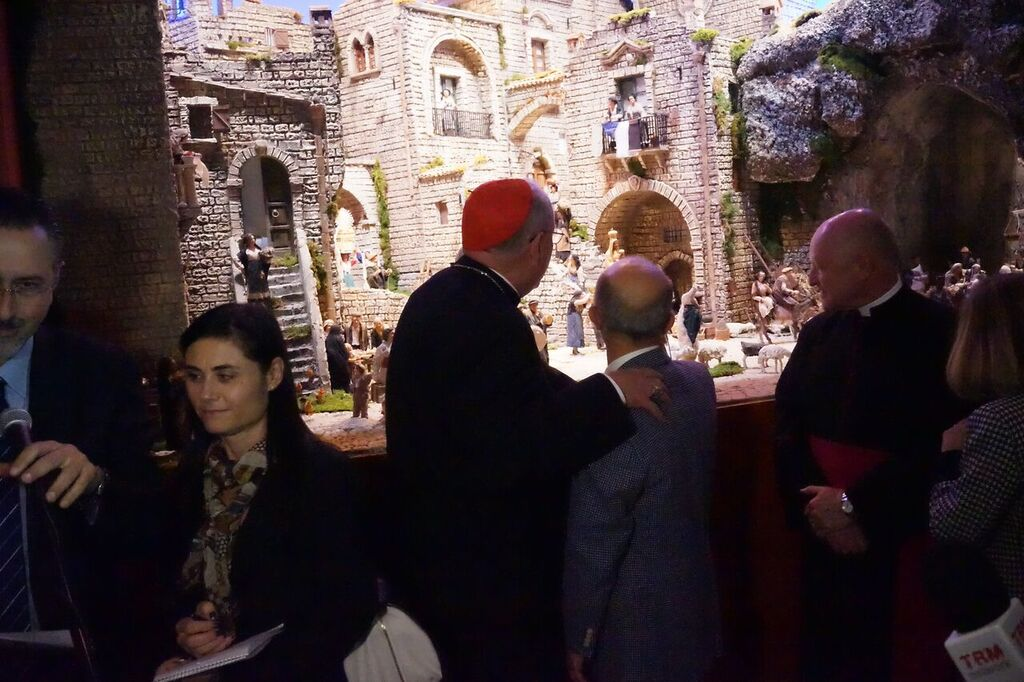 Card. Dolan inaugurated crib in St. Patrick's Cathedral