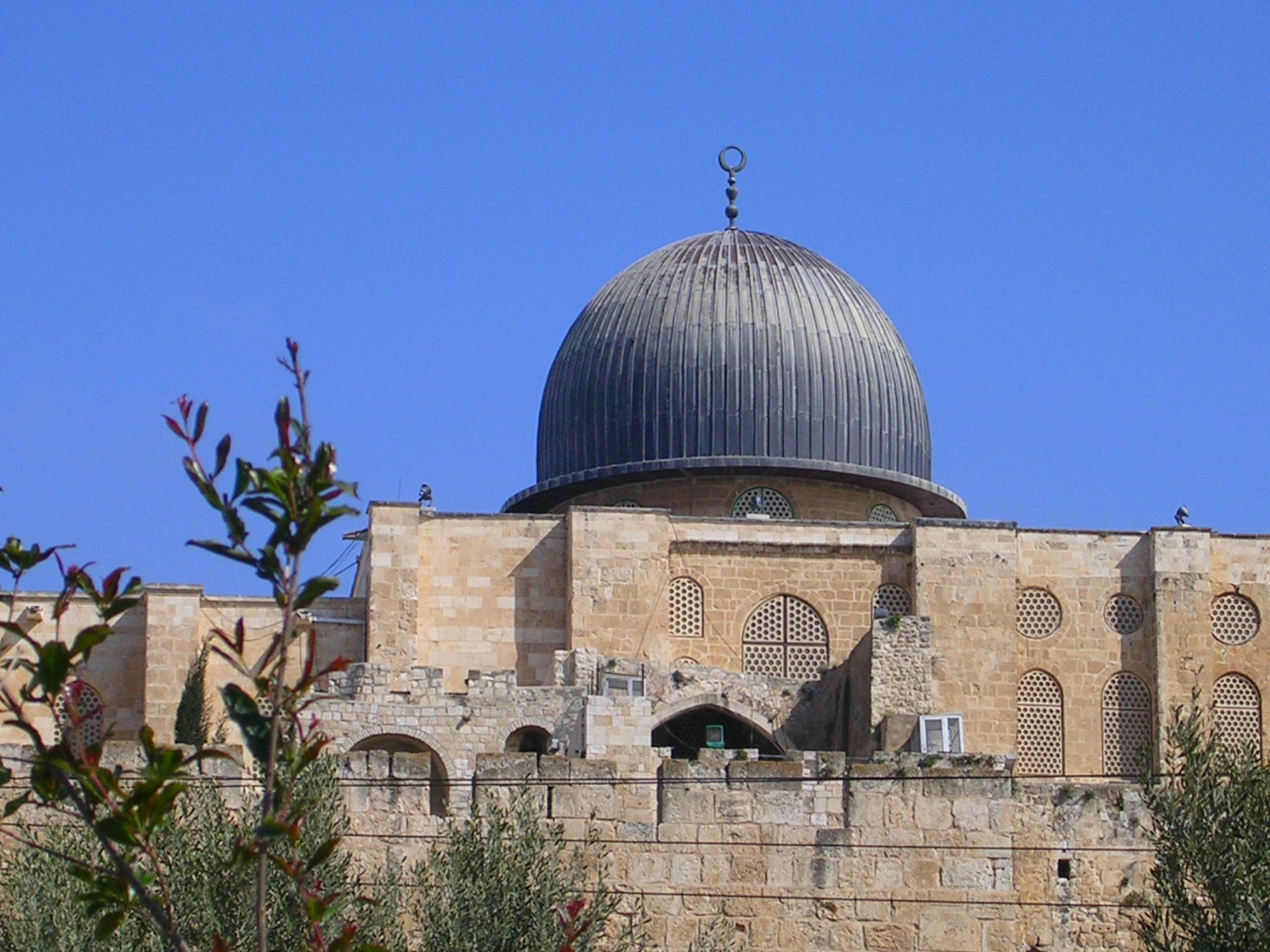 Dome of the Al-Aqsa Mosque in Jerusalem