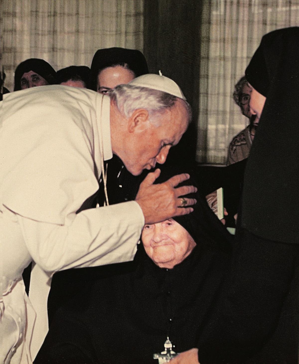 John Paul II with Madre Speranza