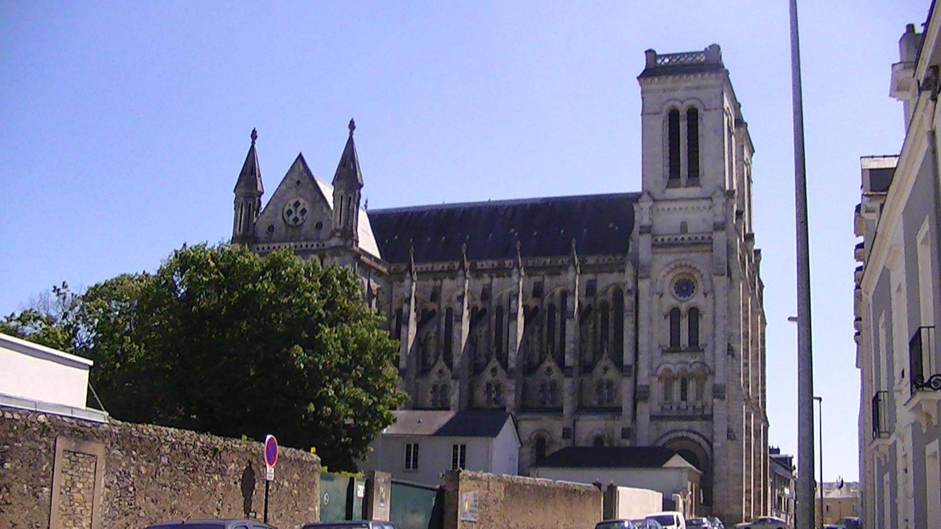 Basilica of Saint Donatien and Saint Rogatien in Nantes (France)