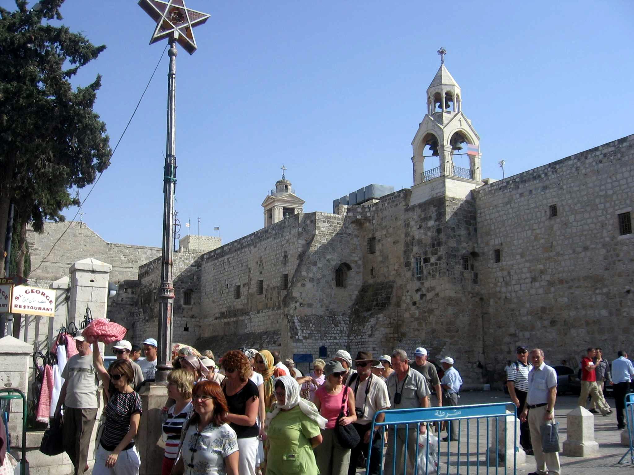 Nativity Basilica in Bethelem