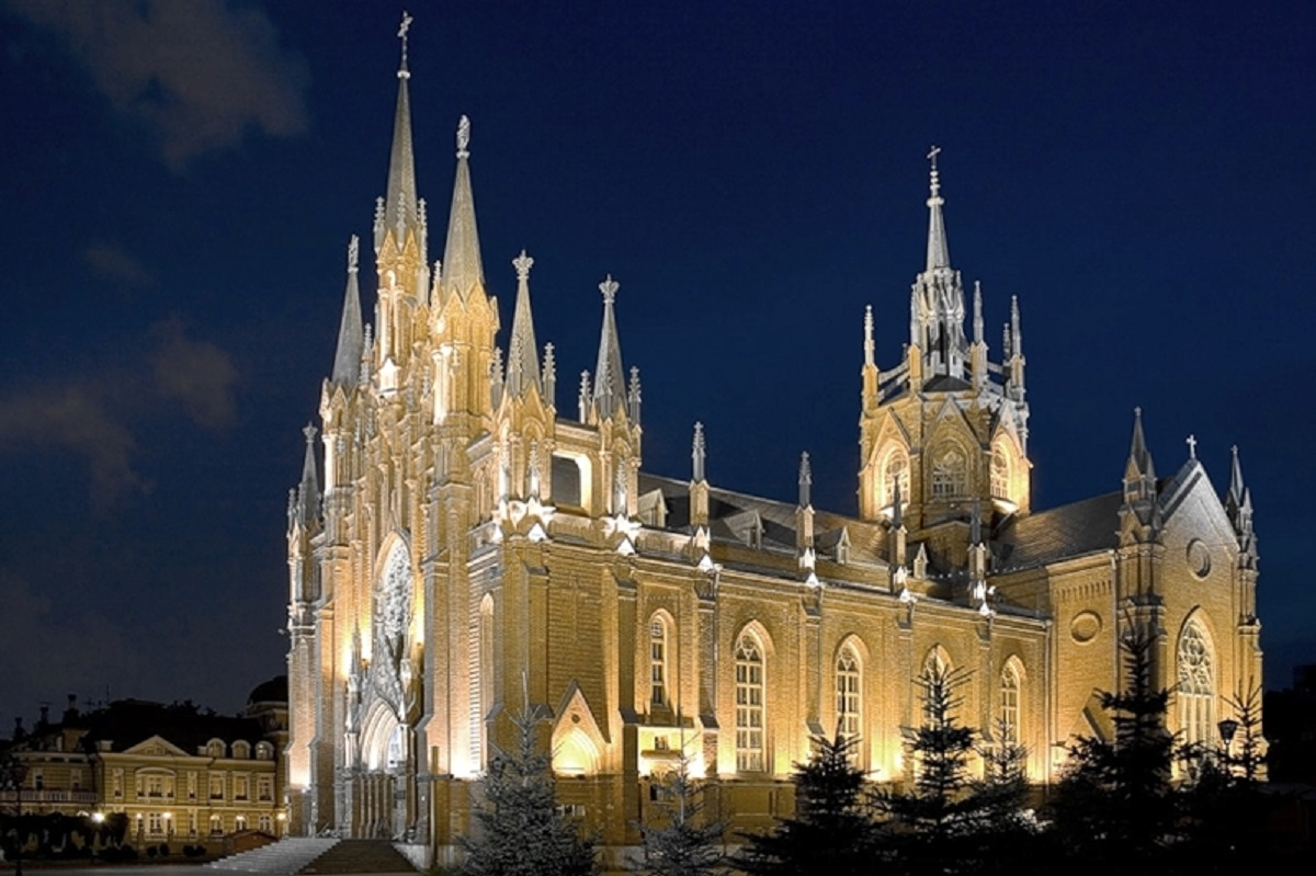 Catholic Cathedral of Immaculate Conception - Moscow