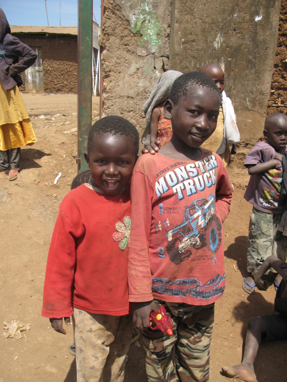 Children in Nairobi