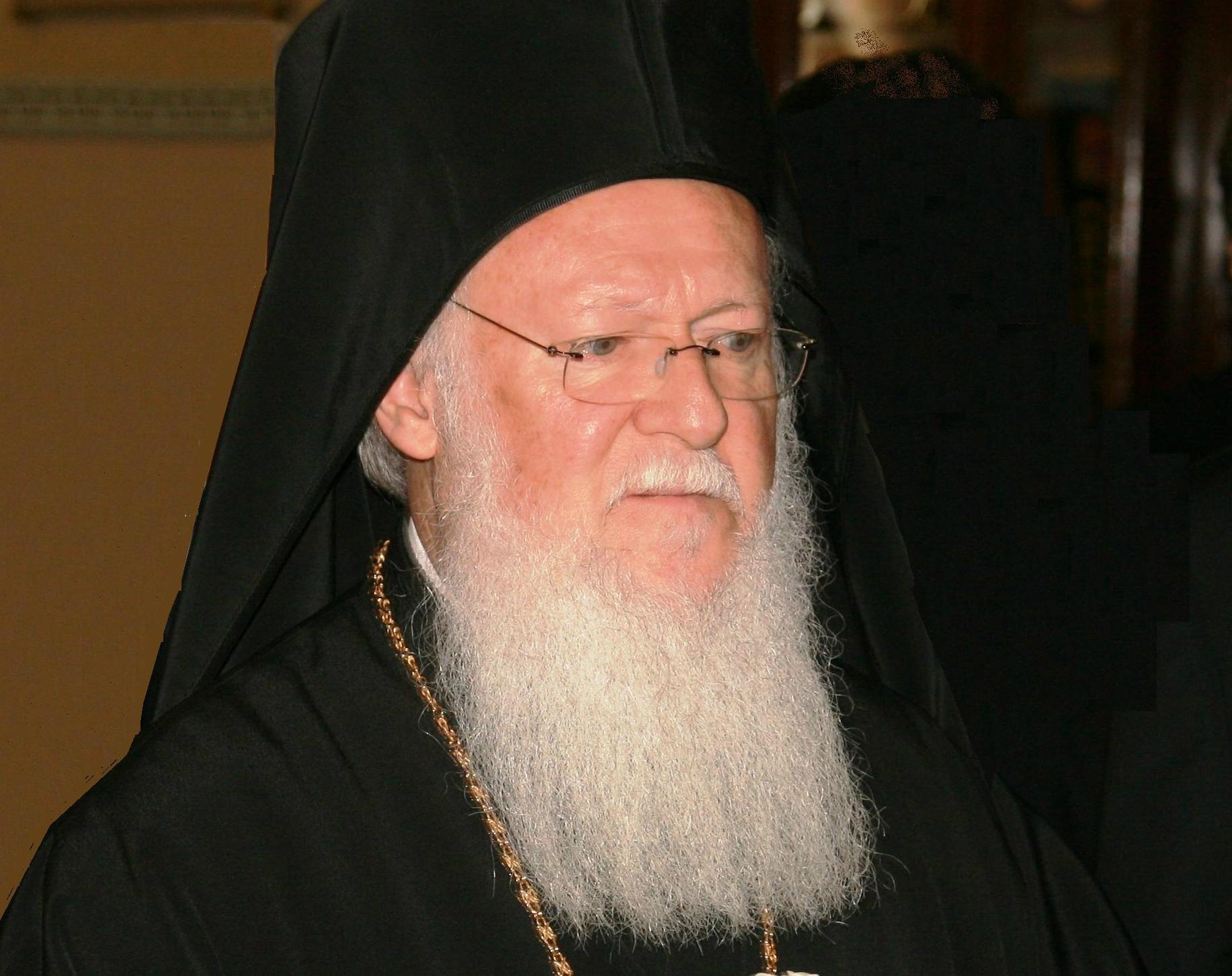 His Holiness Bartholomew I
