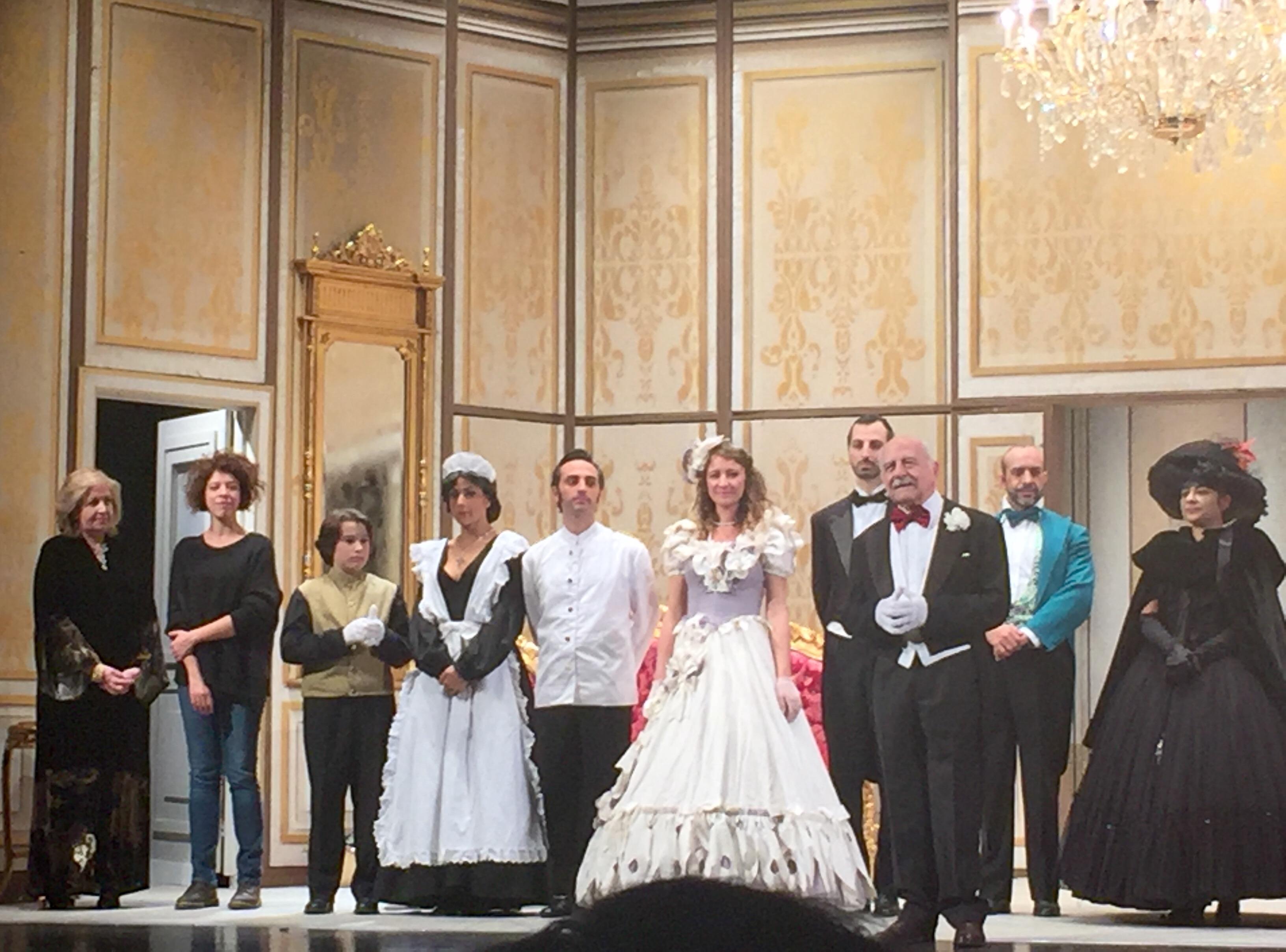 """Play """"Miseria e nobiltà"""" at Teatro Parioli in Rome"""