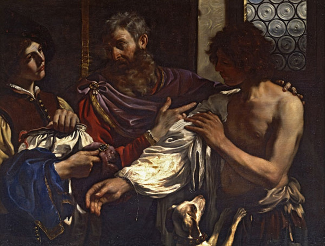 """""""The Return of the Prodigal Son"""" (1627-28) by Guercino"""