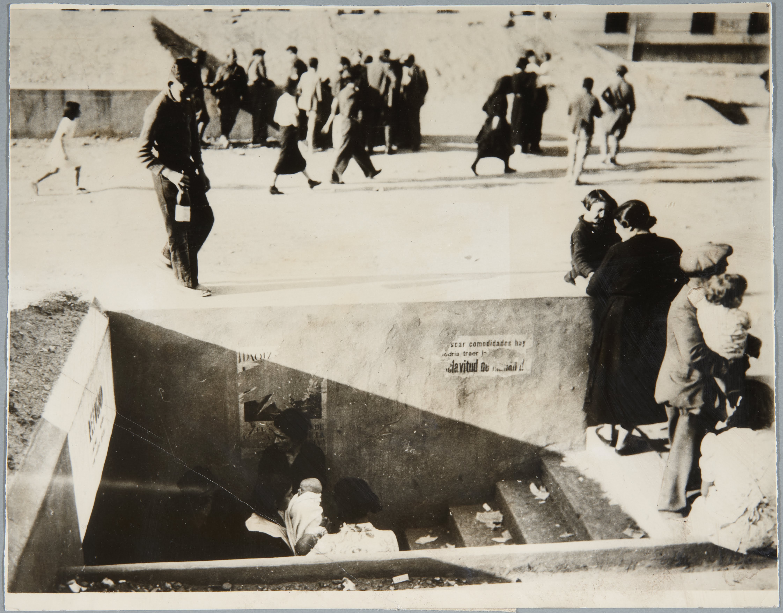 Bunker during Spanish Civil War