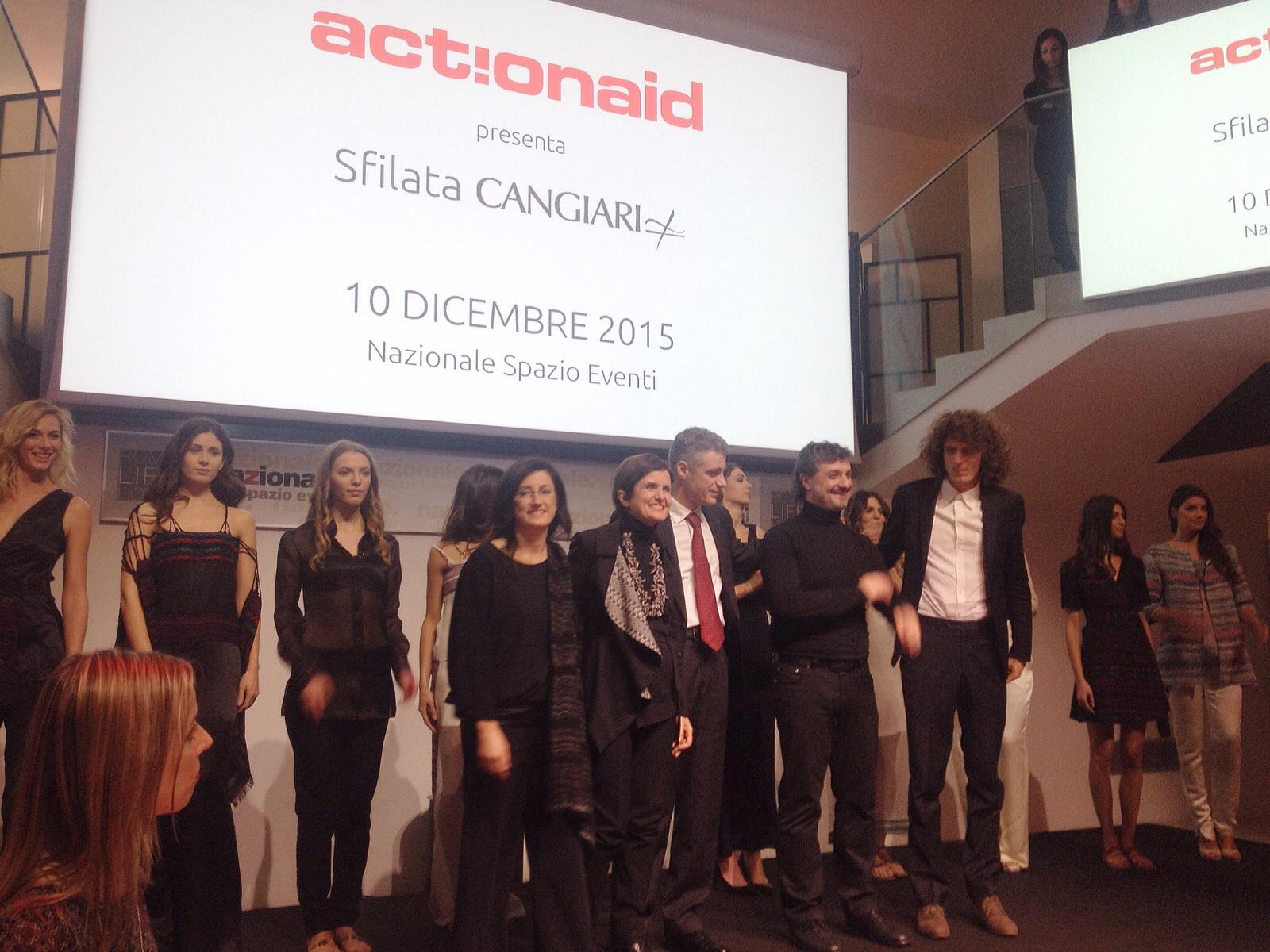 Cangiari's fashion show