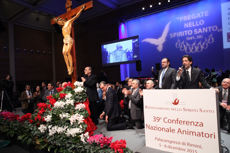 Conclusion of 39° Conferenza Nazionale Animatori Rinnovamento nello Spirito Santo