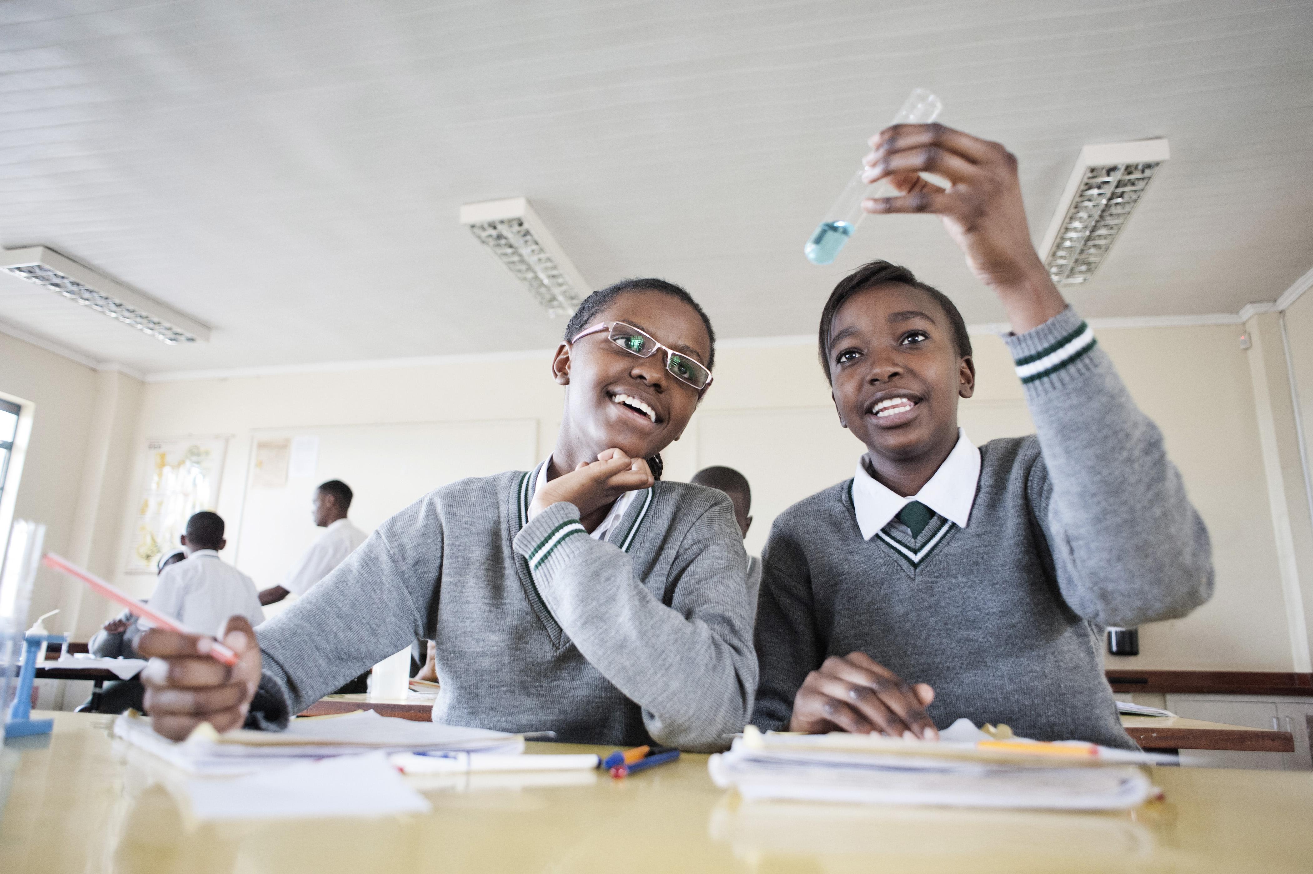 Schoolgirls in Kenya