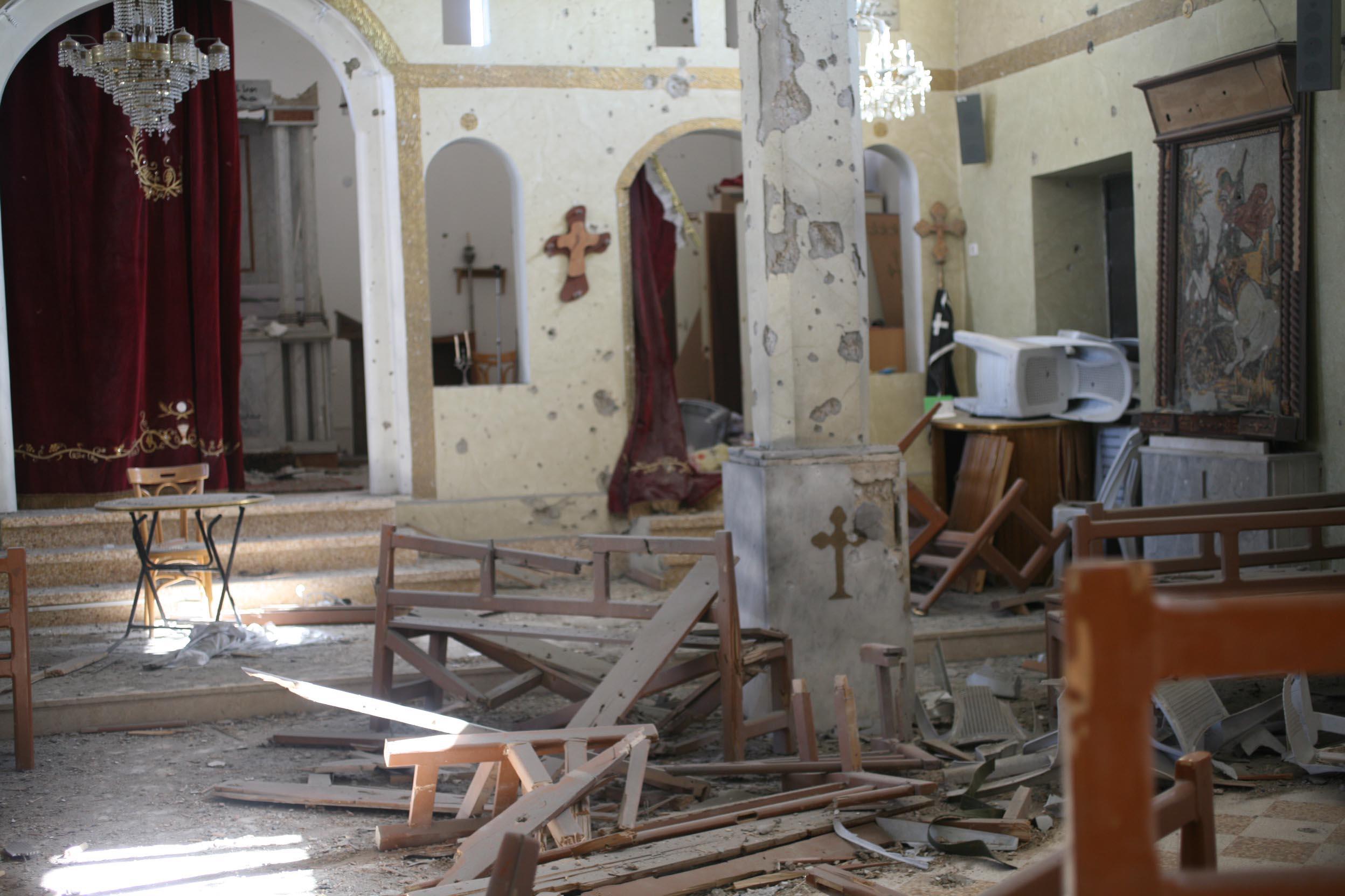 Church in Sadad