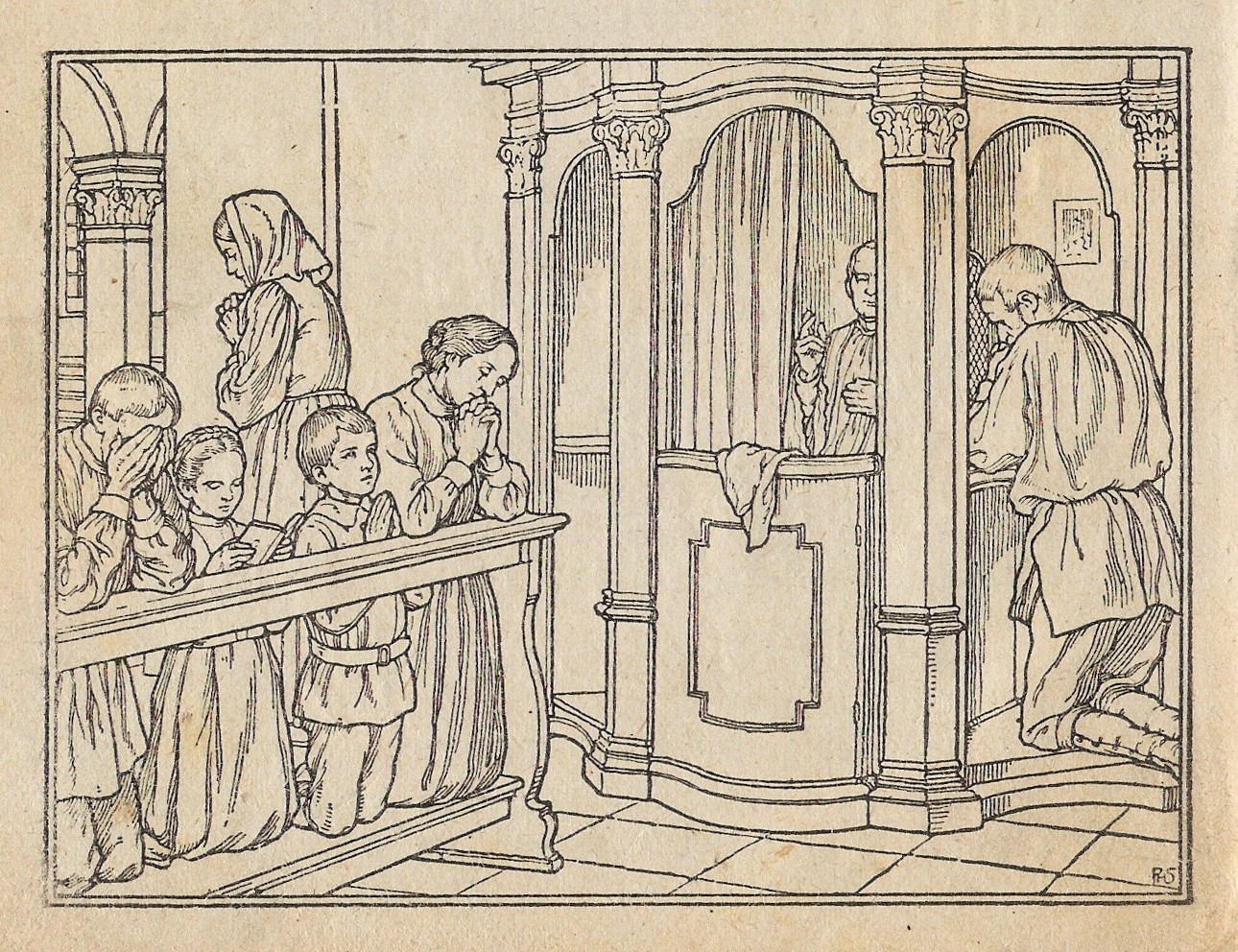 The sacrament of Confession or Penance