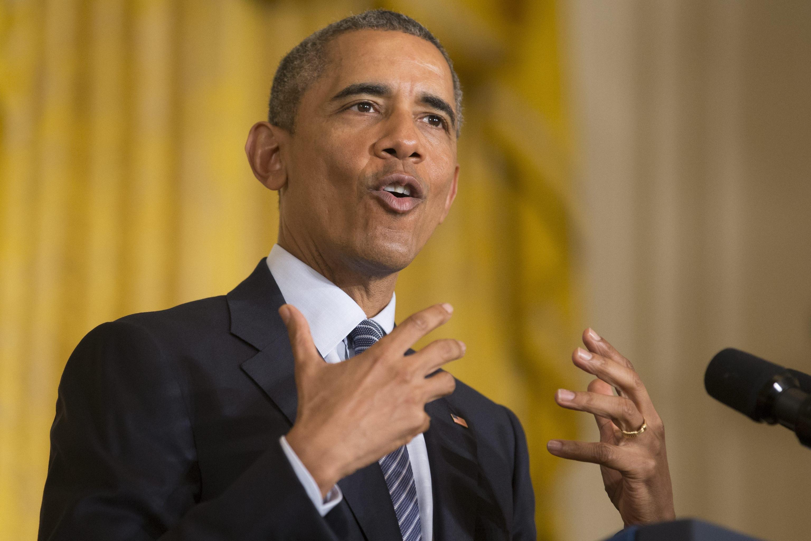 President Barack Obama delivers remarks outlining his clean power plan