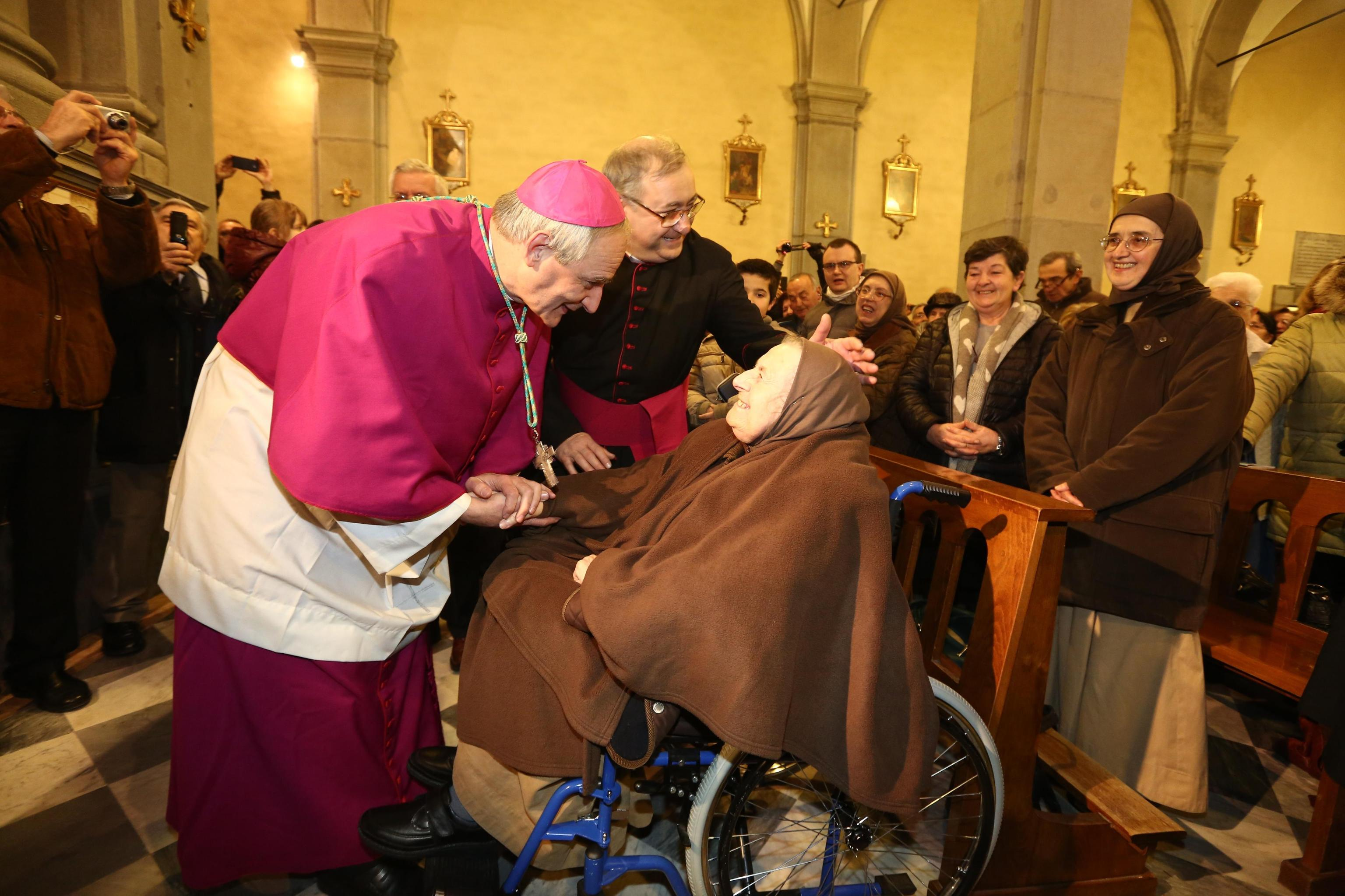 The new archbishop of Bologna