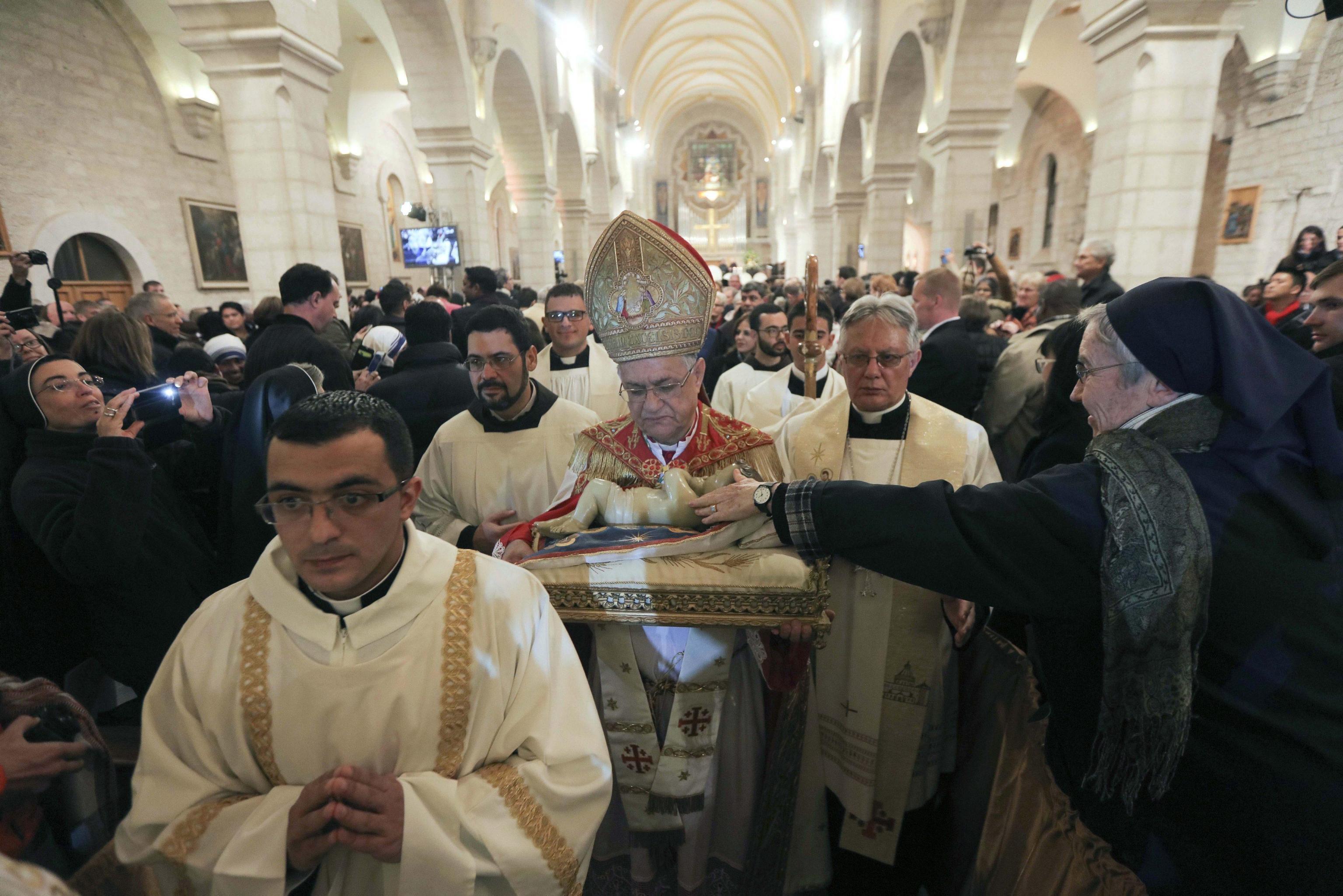 The Latin Patriarch of Jerusalem