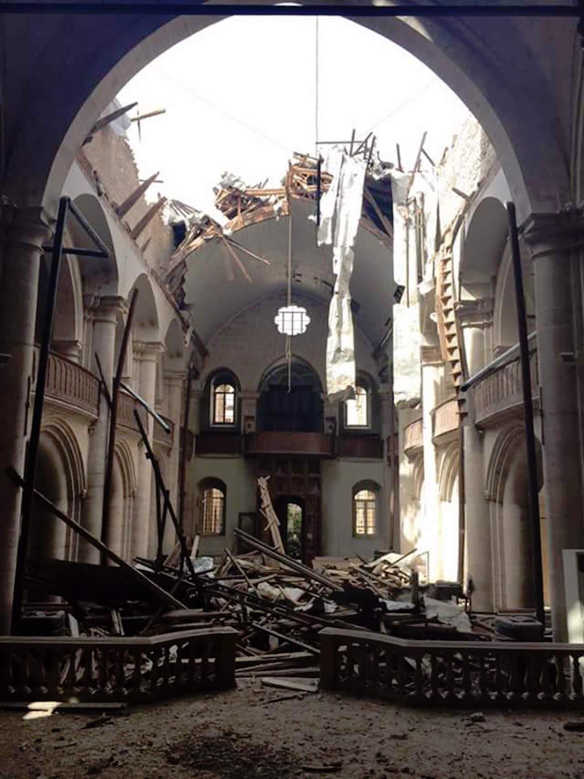 Maronite Cathedral in Aleppo