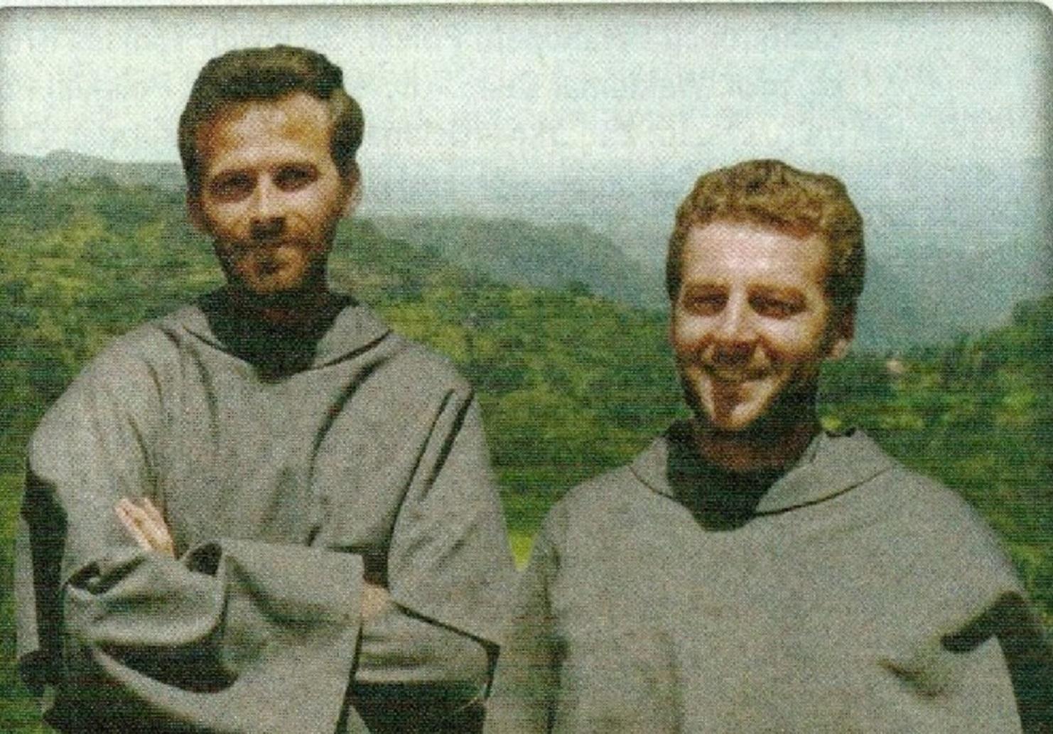 Father Michal Tomaszek and father Zbigniew Strzalkowski