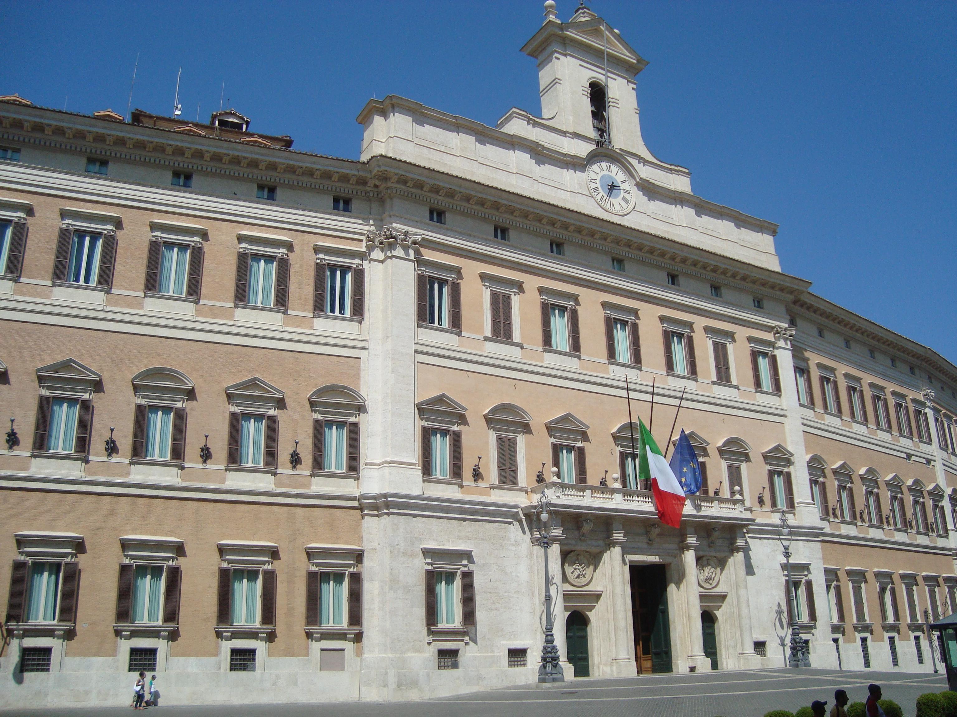 Palazzo Montecitorio (Italian Chambers of Deputies)
