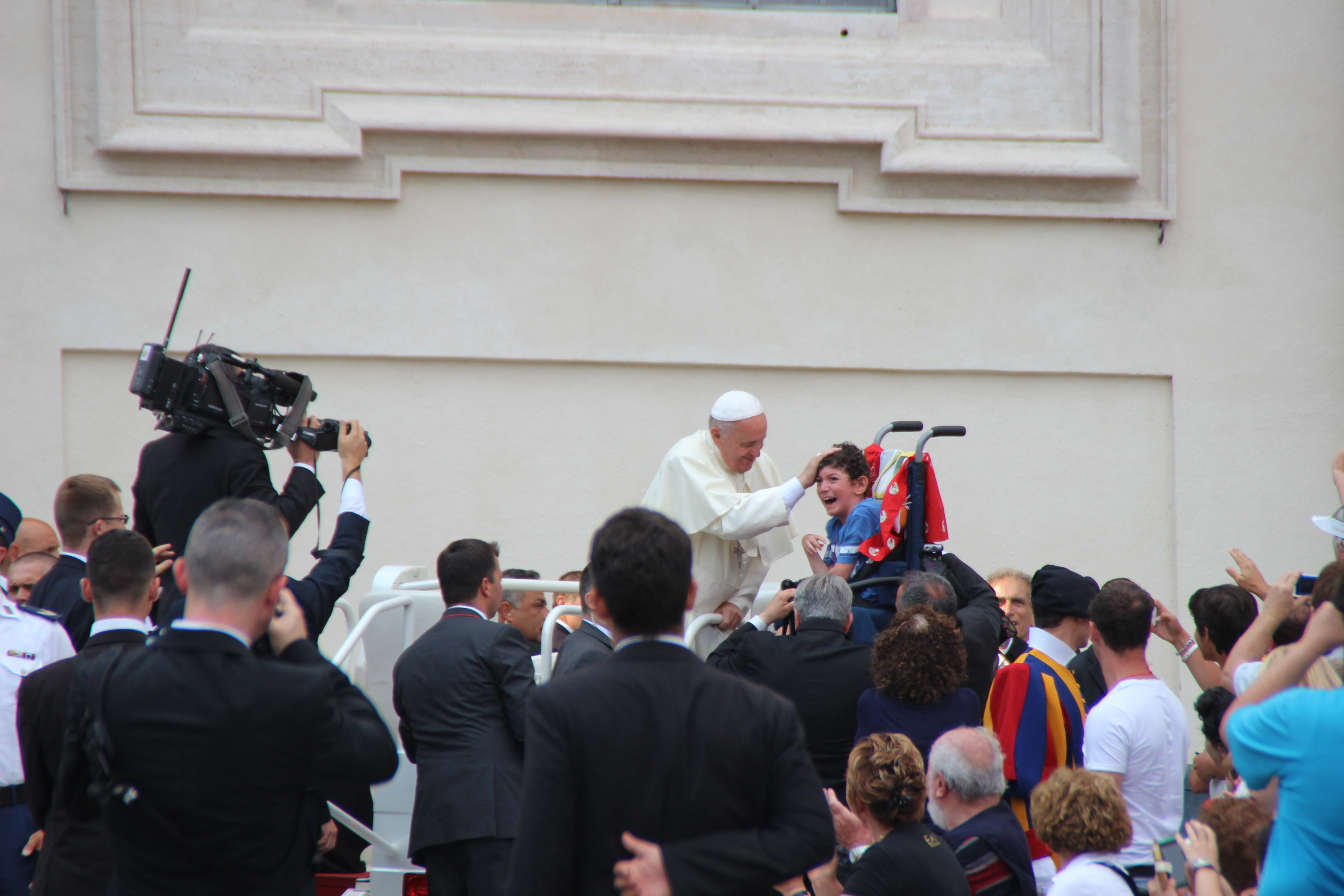 Pope Francis during the audience with Rinnovamento nello Spirito Santo (St. Peter Square