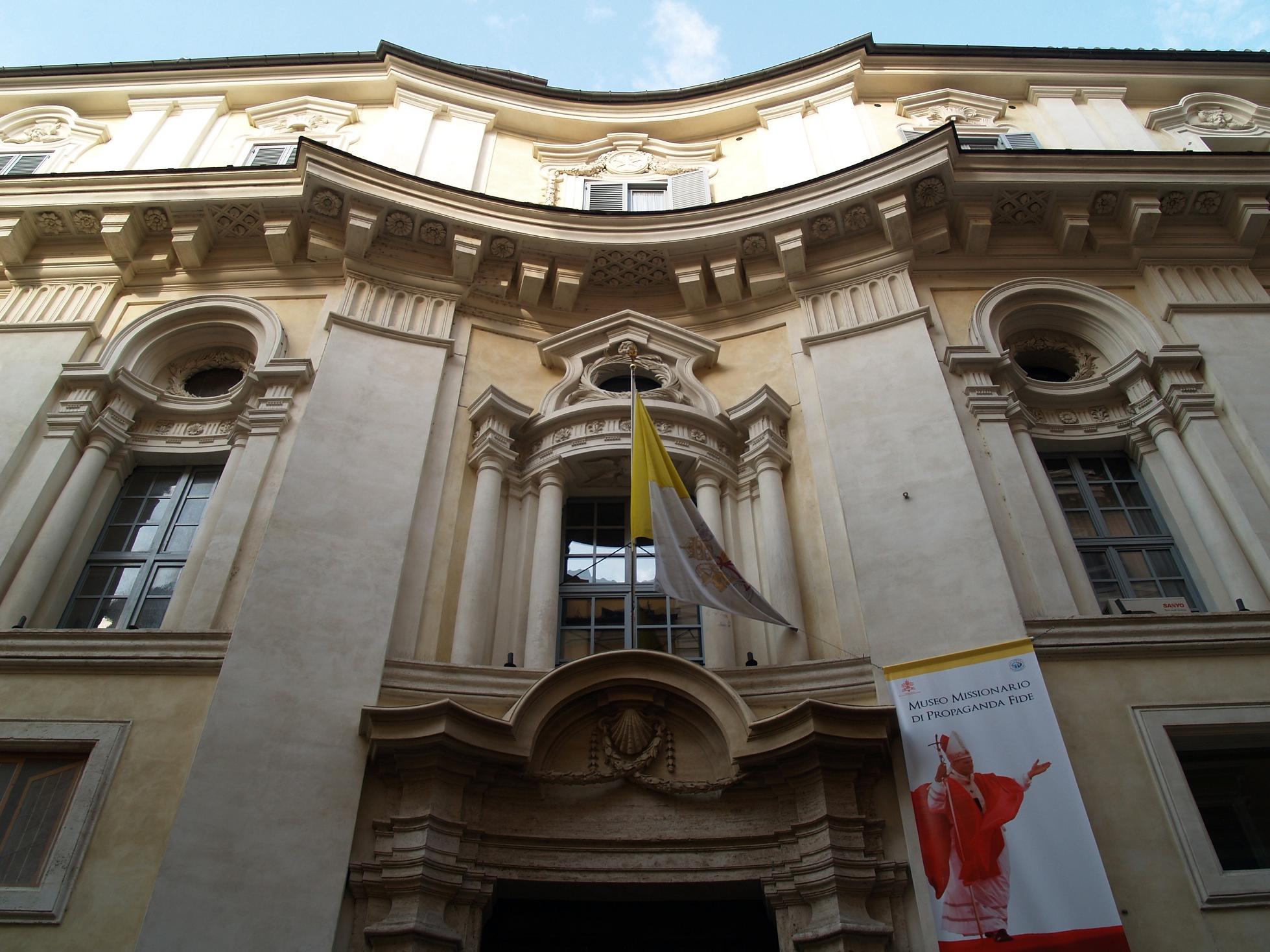 Palace of Propaganda Fide - Francesco Borromini