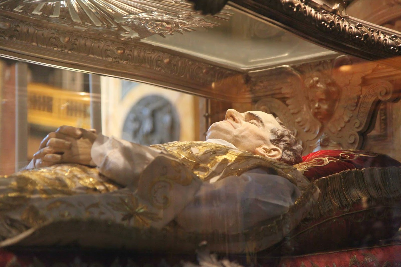 The relics of Don Bosco