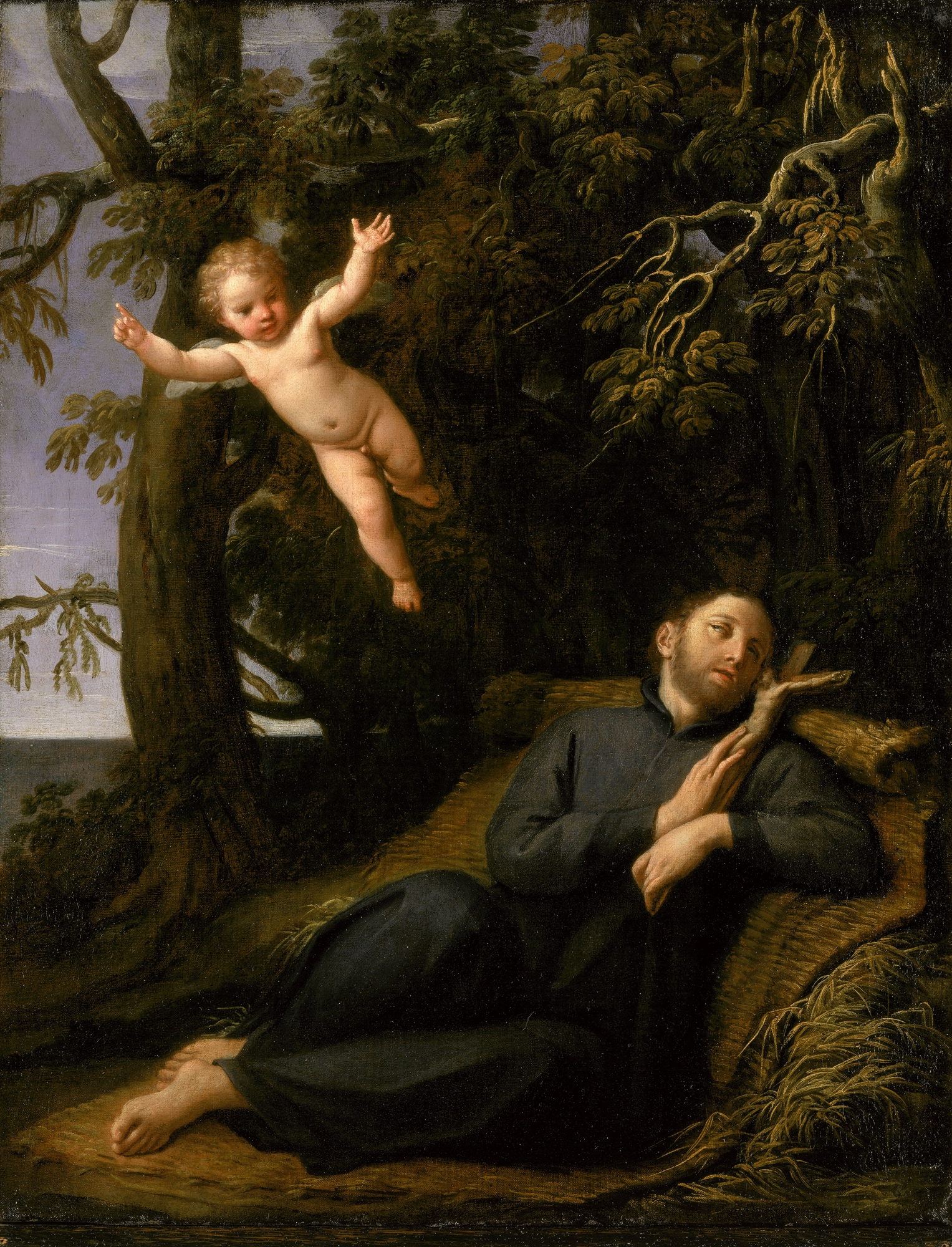 Saint Francis of Sales in the Desert