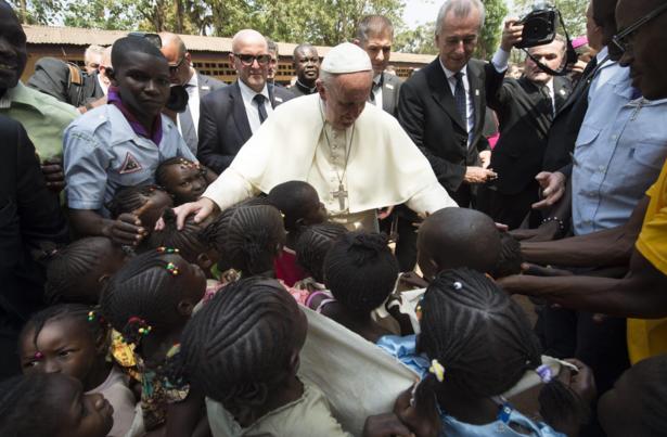 Pope in Bangui