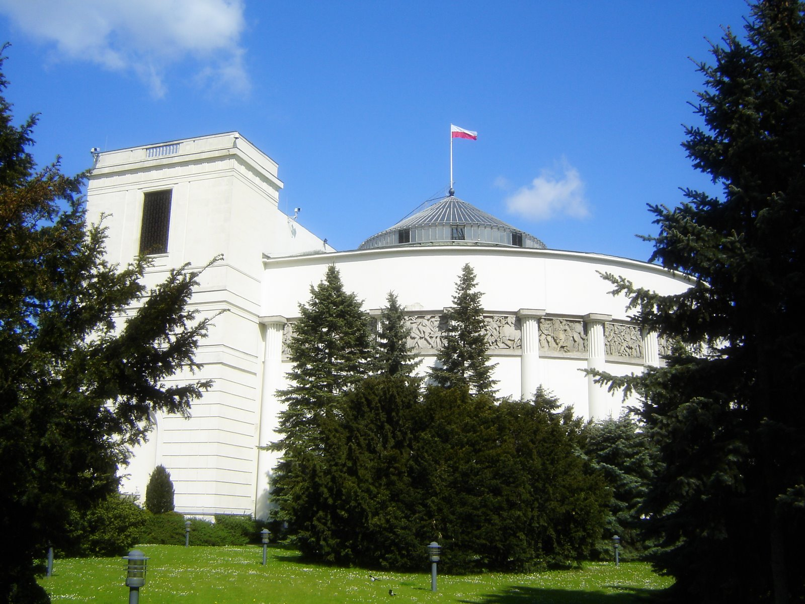 Parliament in Warsaw