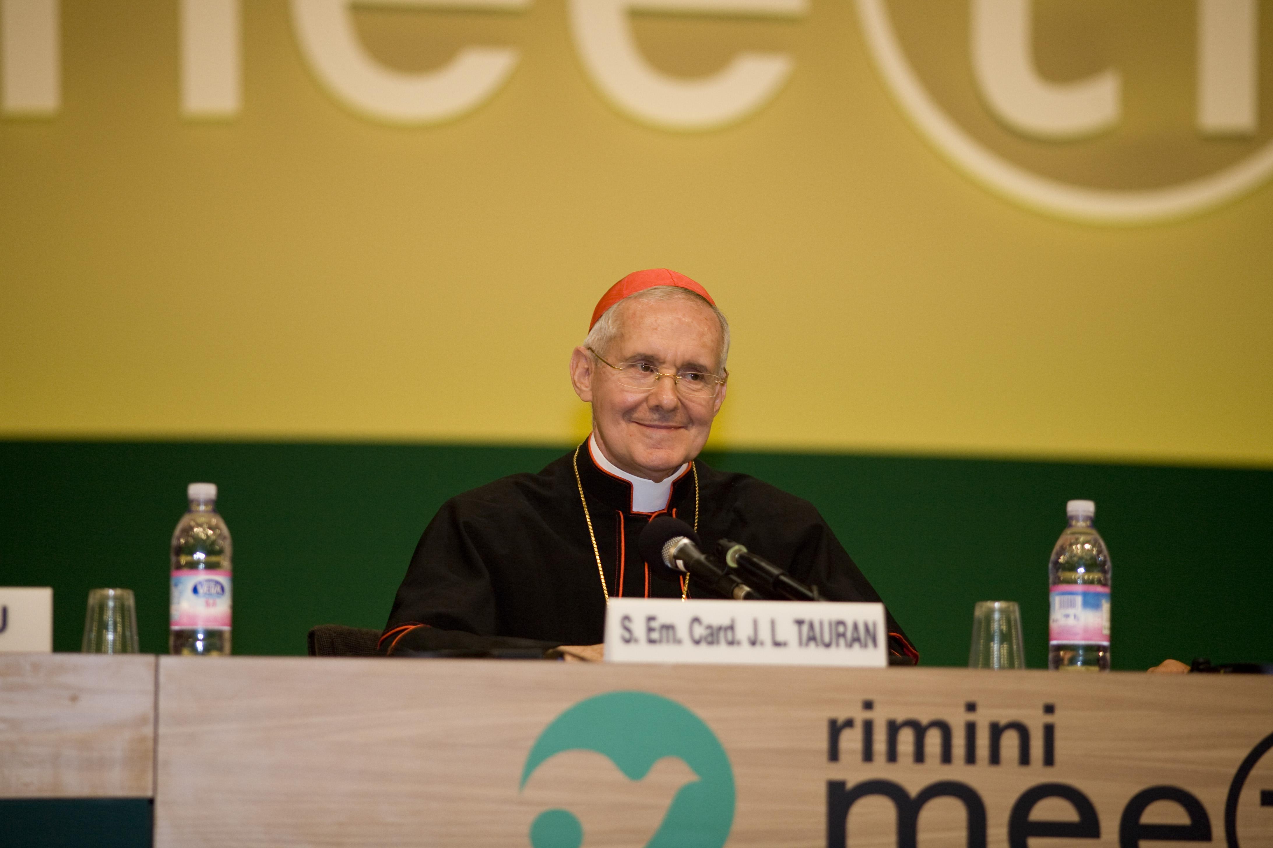 Card. Jean-Louis Pierre Tauran - Meeting di Rimini