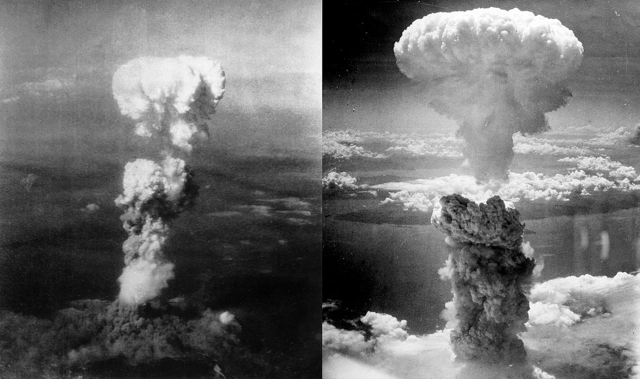 Atomic bombings of Hiroshima (L)