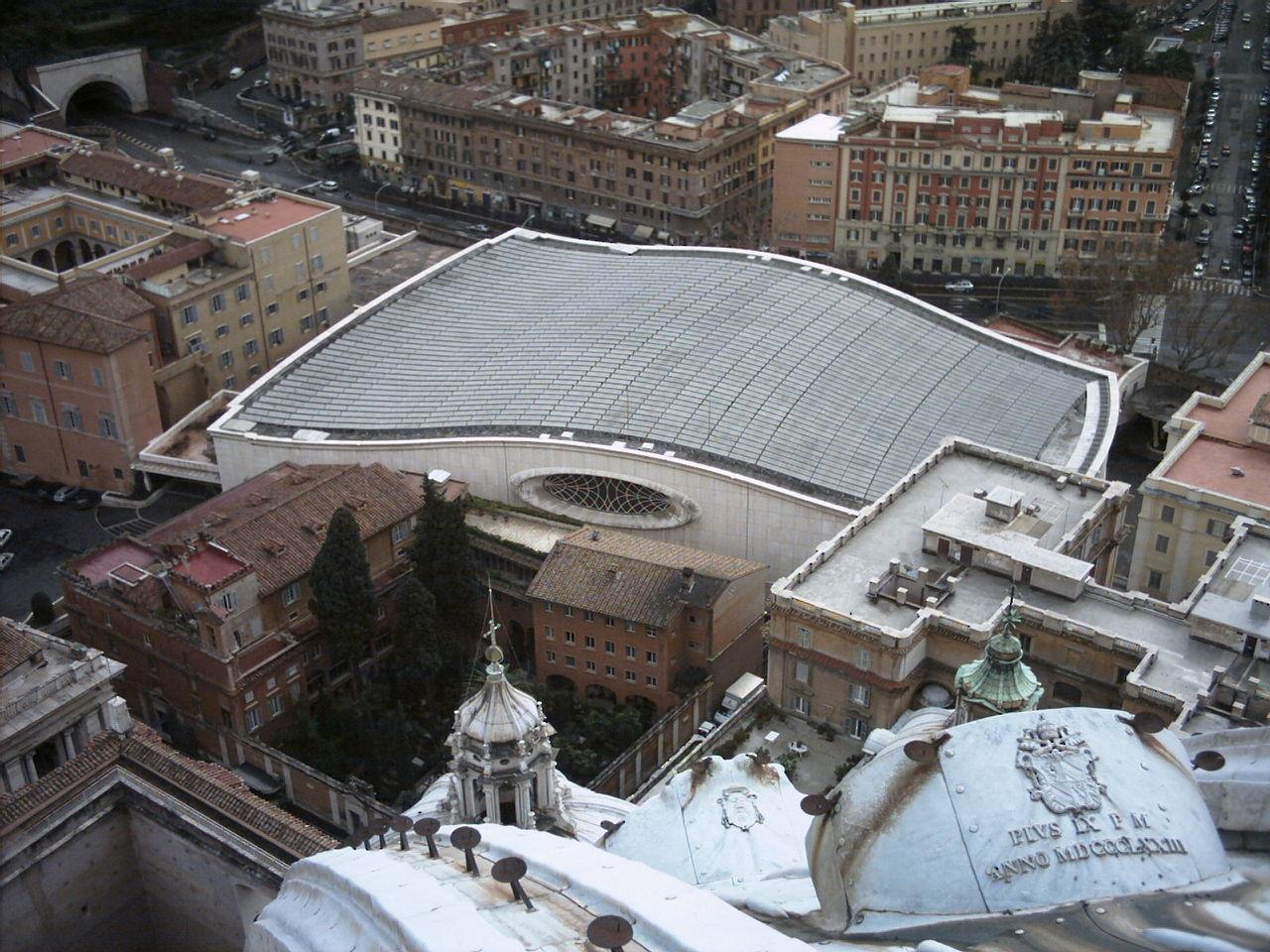 The Paul VI Audience Hall