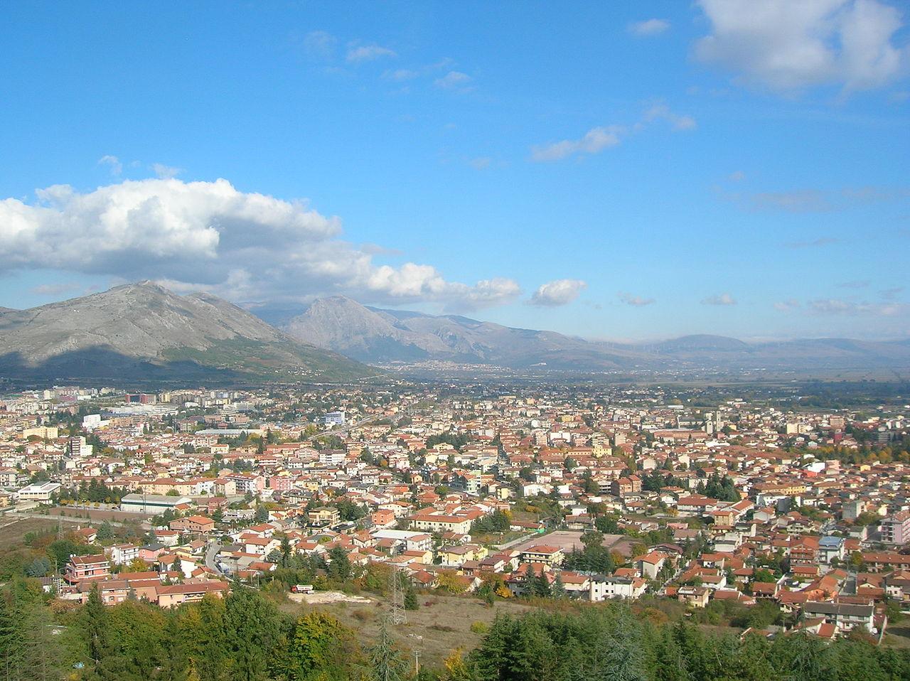 The city of Avezzano