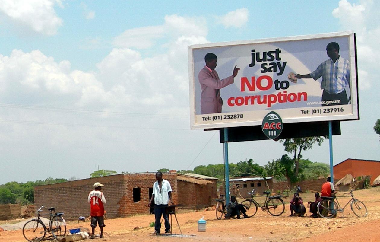 A billboard in Chipata