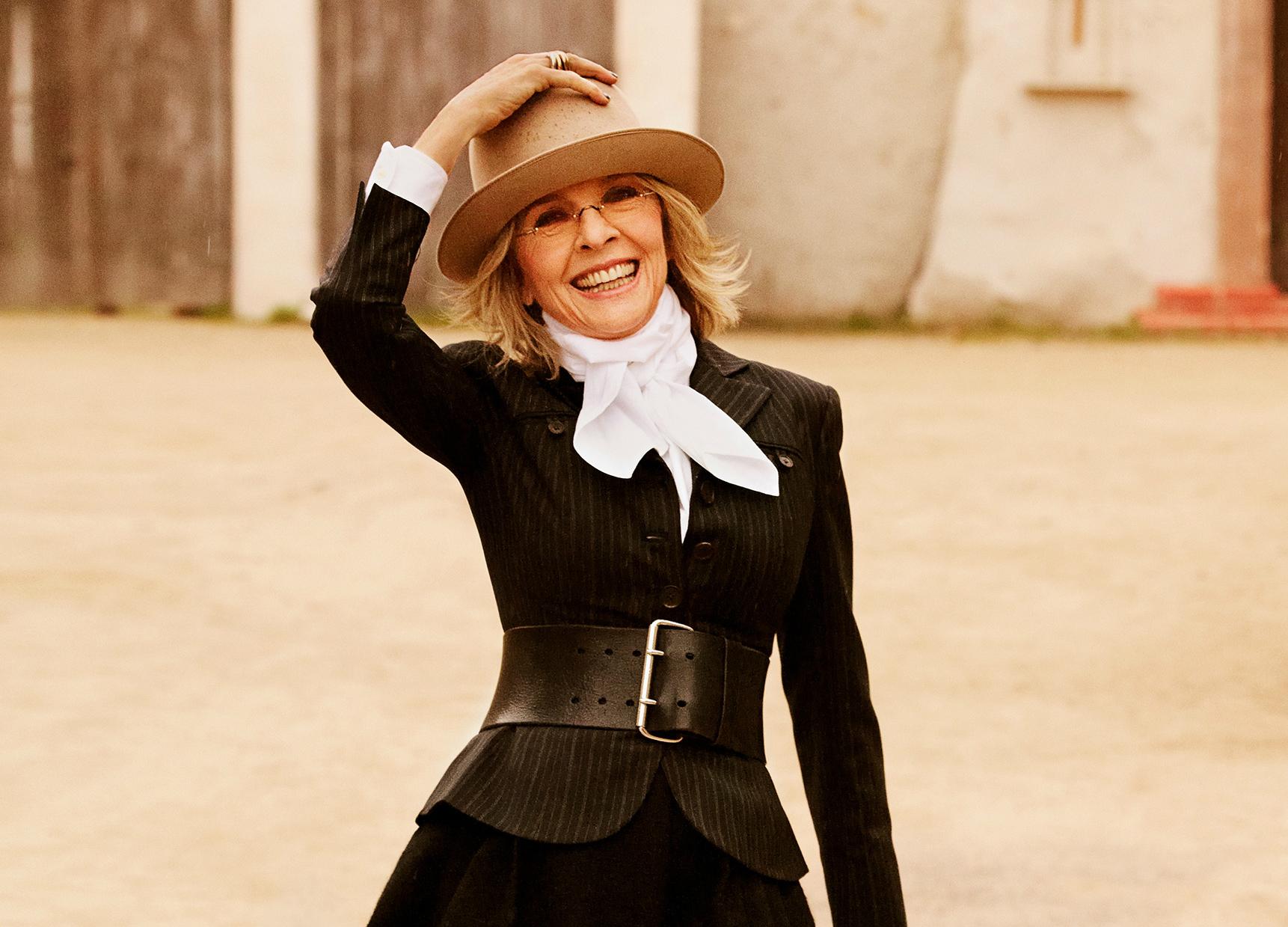 American actress Diane Keaton