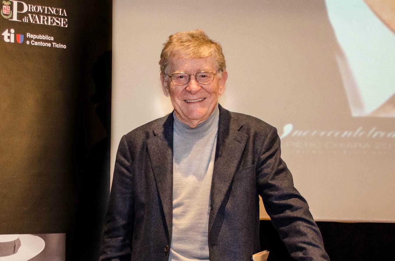 Italian film director Ermanno Olmi at the Premio Chiara 2013