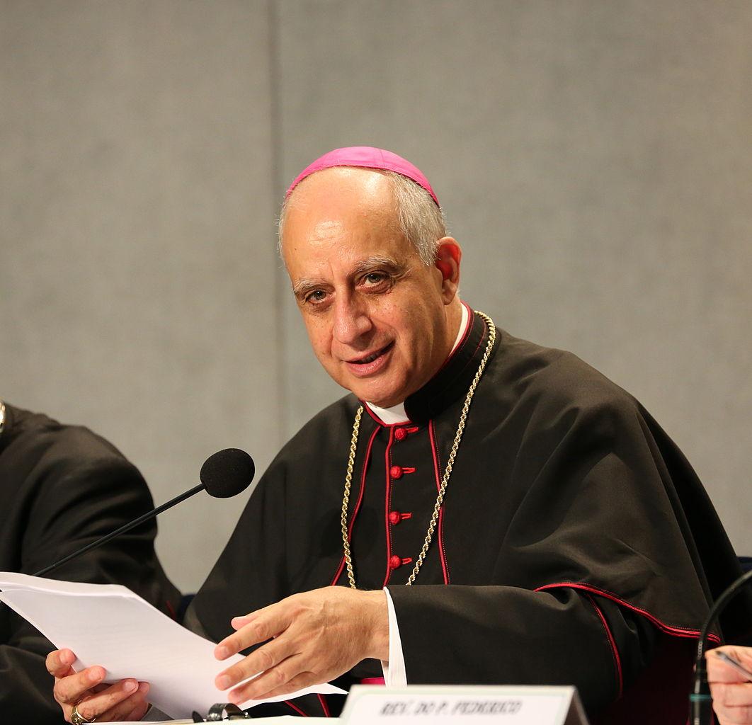 """Archbishop Salvatore """"Rino"""" Fisichella"""