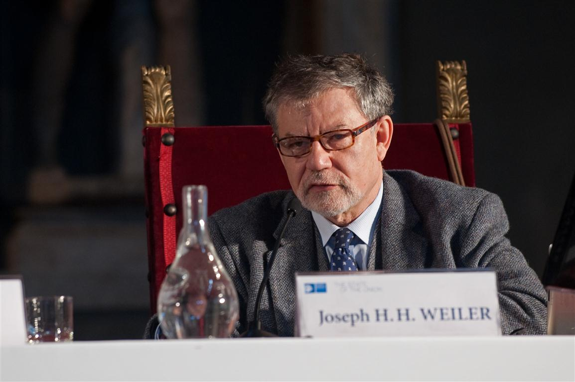 Joseph H. H. Weiler at The State of the Union 2013