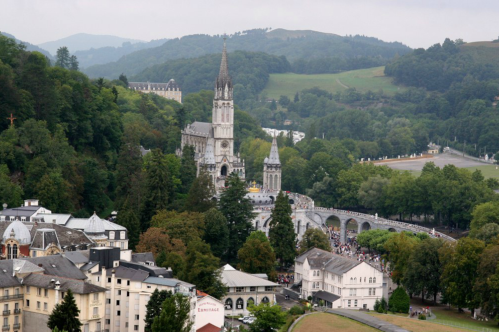 The Sanctuary of Our Lady of Lourdes